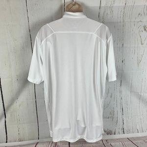 Nike Shirts - Nike Men's XL Texas A&M White Dri Fit Polo Shirt